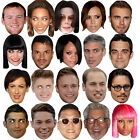 CELEBRITY FACE PARTY MASK FANCY DRESS HEN FUN STAG DO NIGHT BIRTHDAY MASKS NEW