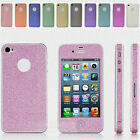 New Color Full Body Bling Sticker Case Cover Skin Film For iPhone 4 4G 4S