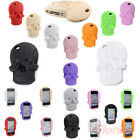 3D Cute Skull Rubber Soft Silicone Gel Back Case Cover Skin For iPhone 4 4G 4S