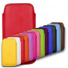 APPLE IPHONE 4 & 4S PULL TAB POUCH CASE PU LEATHER COVER SOCK SLIM SOFT BARGAIN