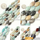 Marquise Smooth Mixed Amazonite Jewelry Making loose gemstone beads strand 15""