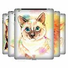 HEAD CASE WATERCOLOURED ANIMALS PROTECTIVE HARD BACK CASE COVER FOR APPLE iPAD 2