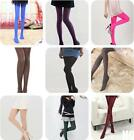 HO AU Fashion Girl Women's Opaque Pantyhose Tights 100D Bright Candy Color