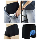 Bike Gel 3D Bicycle Cycling Shorts Pad Padded Pants Men Size M-3XL Black New UK