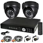 8 Channel Home Security System Kit 8CH CCTV D1 h.264 DVR w/ Dome Camera