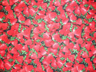 Strawberry fabric summer fruits berries bunting flags Timeless Treasures