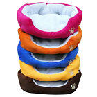 Warm Soft Fleece Puppy Pets Dog Cat Bed House Basket Nest Mat Waterproof