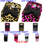Bling Deluxe Pearls Rhinestone Bow Case Cover for Samsung Galaxy Core i8260