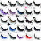 10 Pairs Eyelash False Extension Fake Eyelashes Makeup Cosmetic Party - Random