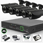 5 x Sony CCD Outdoor Colour Camera 8 CH HDMI CCTV System 2TB HDD Wireless H.264