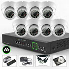 8 x Sony Chip Outdoor Alarm Port Cam 16 Ch DVR CCTV System Cloud Wireless H.264