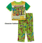 TEENAGE MUTANT NINJA TURTLES 24 M 2T 3T 4T 5T Boys PAJAMAS PJS Sleepwear Shirt