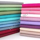 2mm BABY DOT - 100% COTTON POLKA DOTS SPOT FABRIC ALL COLOURS patchwork craft