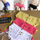 C37 Fashion Cool Low Waist Sexy Hot girl Womens Short Soft Jean Casual lady