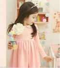 2014 P111 Pink Lovely Wedding Bridesmaid Flower Girls Dresses SIZE 2-3-4-5-6-7-8