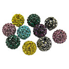 SHAMBALLA Clay Crystal Rhinestone Disco Ball BEADS 10mm - For Shamballa Bracelet