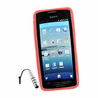 S-Line Soft TPU Gel Plastic Cover Case For MT28i SX + Stylus S