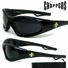 Choppers Sunglasses Motorcycle Bike Goggles with Cushion Foam Pad Driving 909