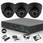 3 x Sony Chip 700TVL Home Office Cam 4 Channel 960H CCTV System Wireless H.264
