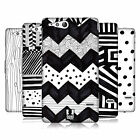 HEAD CASE DESIGNS BLACK AND WHITE DOODLE PATTERNS CASE FOR SONY XPERIA GO ST27i