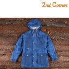 [Hmall] 2nd Corner Men's Padded Coduroy Safari Jacket Outwear Military Navy