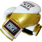 WHITE 'METALLICA' A/L MUAY THAI BOXING TRAINING & SPARRING GLOVES