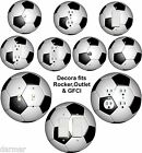 Coloriffic Soccer Ball Light Switch, Outlet, Decora Rocker wall plate Fussball