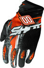 SHOT DEVO MOTION ORANGE BLACK MOTOCROSS MX MOTO-X OFF ROAD GLOVES