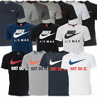 New Mens Nike T-shirt Top Retro Sizes S M L XL XXL Tshirt T Shirt 20 + styles