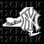 DECAL FOR NEW YORK YANKEES NEW YORK STATE  VINYL STICKER  VEHICLE GRAPHIC CAR NY on Ebay