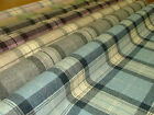 Isle of Skye 100% Wool Thick Tartan Plaid Upholstery & Curtain Designer Fabric