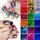 New Lady Galaxy Nail Art Tip Decal Transfer Foil Paper Tip Foil DIY Sticker Wrap