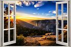 Huge 3D Window Exotic Australian Sky View Wall Stickers Film Decal Wallpaper