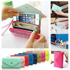Crown Wristlet Leather Flip Wallet Case For iPod Touch 5G 5th Generation 5 G Gen