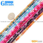 """4mm round tiny round agate space jewelry making loose beads 15"""" 11 colors select"""