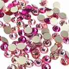 144 Swarovski 2058/2088 crystal flatbacks No-Hotfix rhinestones PINK Colors Mix