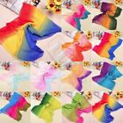 NEW 2014 Women Chiffon Bohemia Rainbow Summer Beach Scarf Wrap Shawl Stole