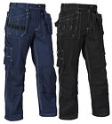 Blaklader Knee Pad Work Trousers with Nail Pockets (Cotton Twill)-15301370