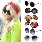 Fashion Vintage Women Men Unisex Big Round Mirror Lens Sunglasses Wholesale