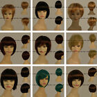 New fashion Short Straight fashion bob wig full lace  selectable 8'' - 10""