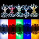 50x DC5V Red Green Blue Yelow White Exposed LED Pixel Light 9mm Waterproof IP67