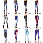 Fashion Design Colorful Women Sexy High Waisted Stretchy Leggings Pant