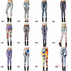 New Cool Pretty Colorful Women Sexy High Waisted Stretchy Leggings Pants