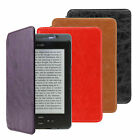 "ULTRA THIN PU LEATHER CASE COVER WITH BUILT-IN LED LIGHT FOR KINDLE 6"" (4/5 gen)"