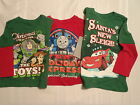 DISNEY Cars Toy Story Buzz Woody or THOMAS & FRIENDS Christmas Shirt Choice NWT