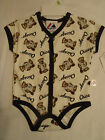 MAJESTIC 3-6 or 6/9 Month Chicago White Sox Bodysuit Top NWT
