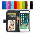 New Premium Flip Wallet Case PU Leather Card Slot Cover For iPhone 6s 7 Plus