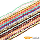"2mm 3mm 4mm Seed Beads Jewelry Making Loose Spacer Gemstone Beads 15"" Wholesale"
