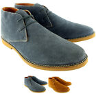 Mens Frank Wright Totton Chukka Leather Chukka Lace Up Ankle Boots New UK 7-12