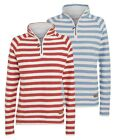 Weird Fish Wren Women's Striped Macaroni 1/4 Zip Top | Ladies | Sweater | Casual
